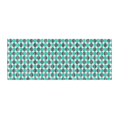 Michelle Drew Distressed Circles Bed Runner