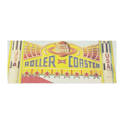 Libertad Leal Life is a Rollercoaster Bed Runner