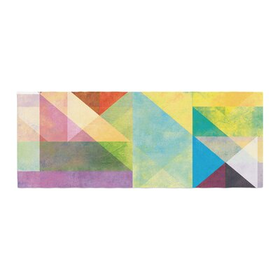 Mareike Boehmer Color Blocking II Abstract Bed Runner