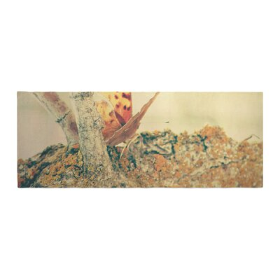Sylvia Coomes Monarch Butterfly Photography Nature Bed Runner