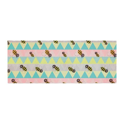 Louise Machado Little Bee Chevron Bed Runner