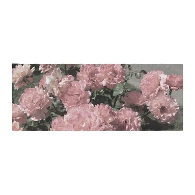 Susan Sanders Flowers Floral Photography Bed Runner