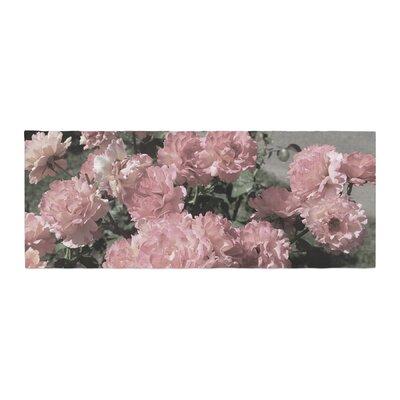 Susan Sanders Flowers Floral Photography Bed Runner