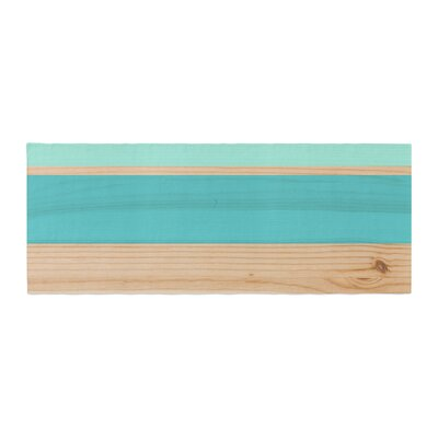 Spring Swatch Wood Bed Runner