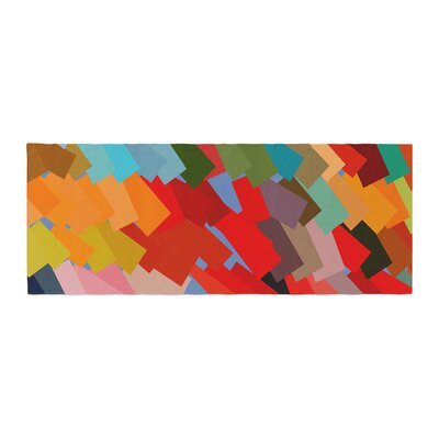 Matthias Hennig Playful Rectangles Bed Runner