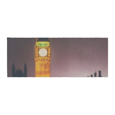 Laura Evans Westminster at Night Bed Runner