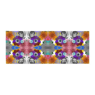 Vasare Nar Tropical Flowers Bed Runner