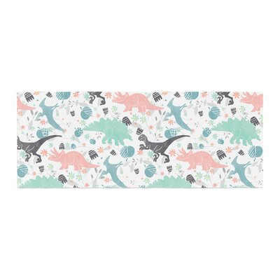 Melissa Armstrong Florasaurus Digital Bed Runner