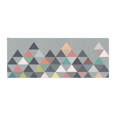 Mareike Boehmer Nordic Combination Abstract Bed Runner
