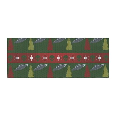 Alias Xmas Files Bed Runner