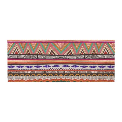 Vasare Nar Native Tessellation Bed Runner