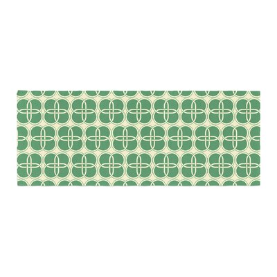 Celtic Crosses Pattern Bed Runner