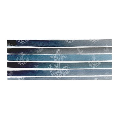 Li Zamperini Marine II Watercolor Bed Runner