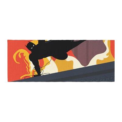 Kevin Manley Prodigal Son Batman Fire Bed Runner
