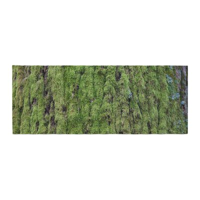 Susan Sanders Emerald Moss Nature Bed Runner