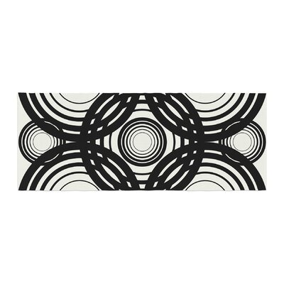 Kathryn Pledger Mono Geo Geometric Bed Runner