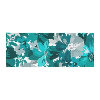 Mmartabc Blossoms Illustration Bed Runner