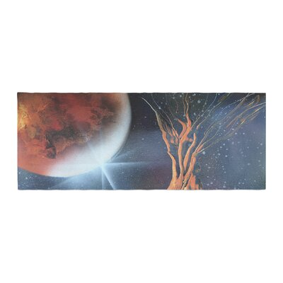 Infinite Spray Art Embark Nature Bed Runner