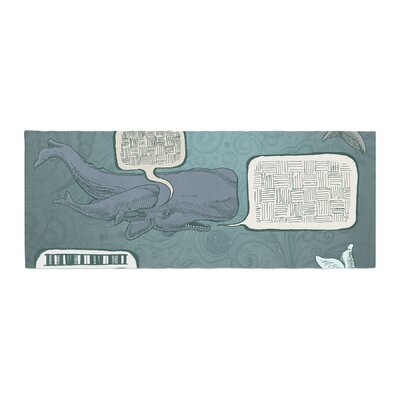 Sophy Tuttle Whale Talk Bed Runner