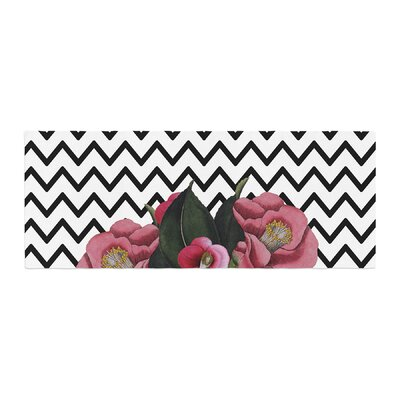 Tobe Fonseca Spring Pattern Chevron Mixed Media Bed Runner