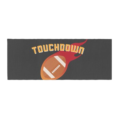 Touchdown XLVI Sports Football Bed Runner