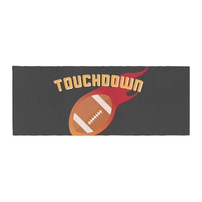 Touchdown XLVI Sports Football Bed Runner