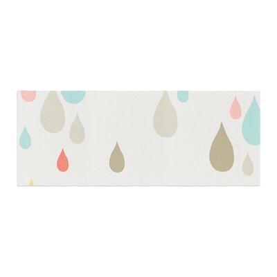 Very Sarie Rainy Days Rain Bed Runner