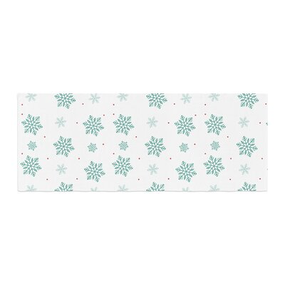 Louise Snow Bed Runner