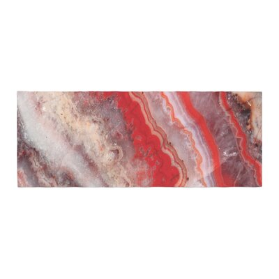 Lace Agate Abstract Bed Runner