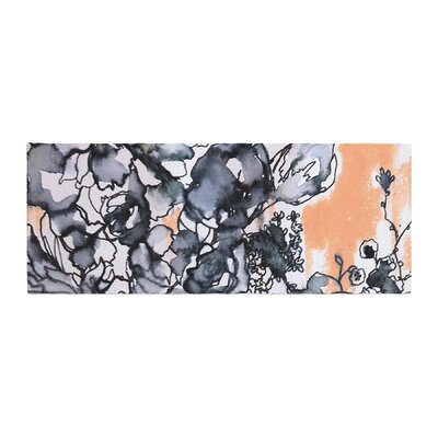 Sonal Nathwani Inky Bouquet Bed Runner
