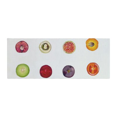 Theresa Giolzetti Fruit Food Bed Runner