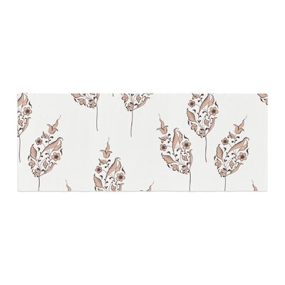 Louise Pattern Flower Bed Runner
