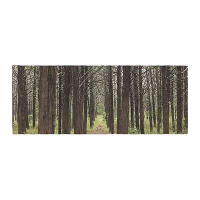 Sylvia Coomes Parallel Forest Photography Bed Runner