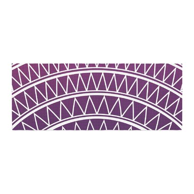 Matt Eklund Portal Bed Runner Color: Amethyst