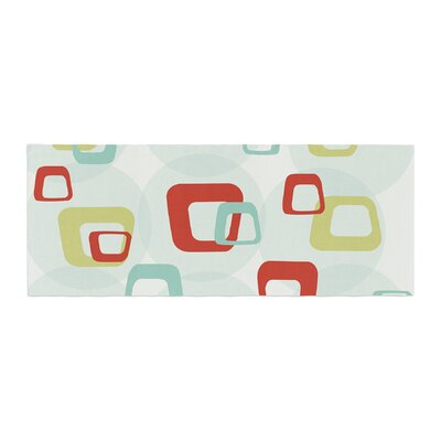 Retro Squares Bed Runner