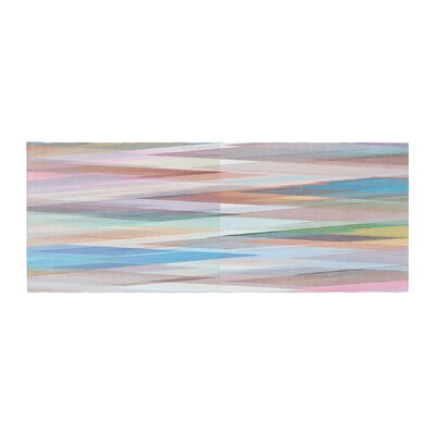 Mareike Boehmer Nordic Combination II Abstract Bed Runner
