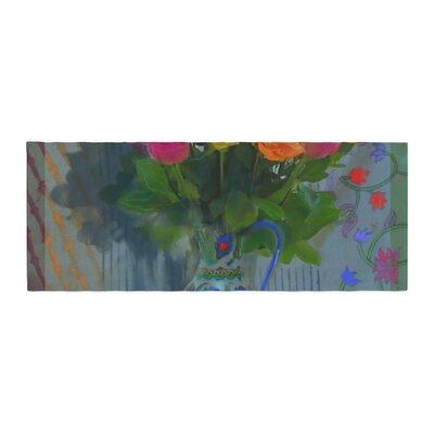 S. Seema Z Spring Bouquet Flowers Bed Runner