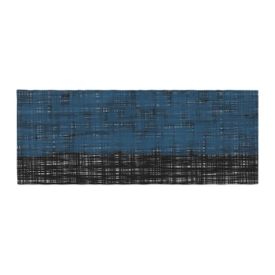 Trebam Platno Digital Bed Runner Color: Blue