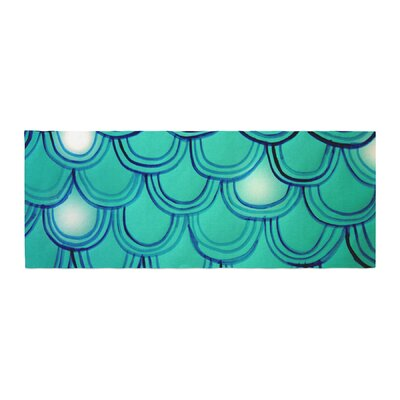 Theresa Giolzetti Mermaid Tail Bed Runner