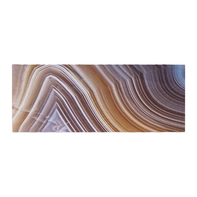 Pale Layered Agate Bed Runner