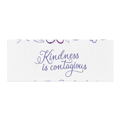 Noonday Design Kindness Is Contagious Bed Runner