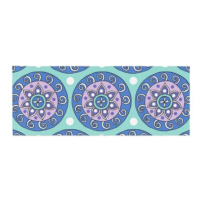 Sarah Oelerich Mandala Dot Bed Runner