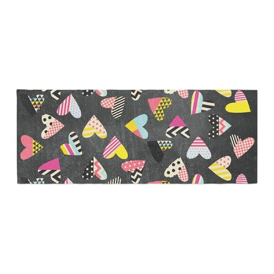 Louise Machado Pieces of Heart Bed Runner