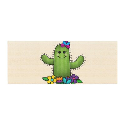 Noonday Design Free Hugs Cactus Bed Runner