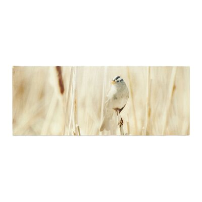 Sylvia Coomes Bird in Ethereal Light Bed Runner