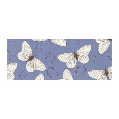 Louise Butterflies Bed Runner