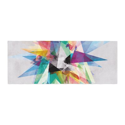 Mareike Boehmer Colorful Abstract Bed Runner