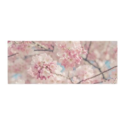 Suzanne Harford Cherry Blossoms Photography Bed Runner