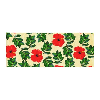 Sreetama Ray No More Peonies Bed Runner