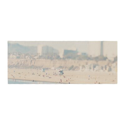 Laura Evans Santa Monica Beach Bed Runner
